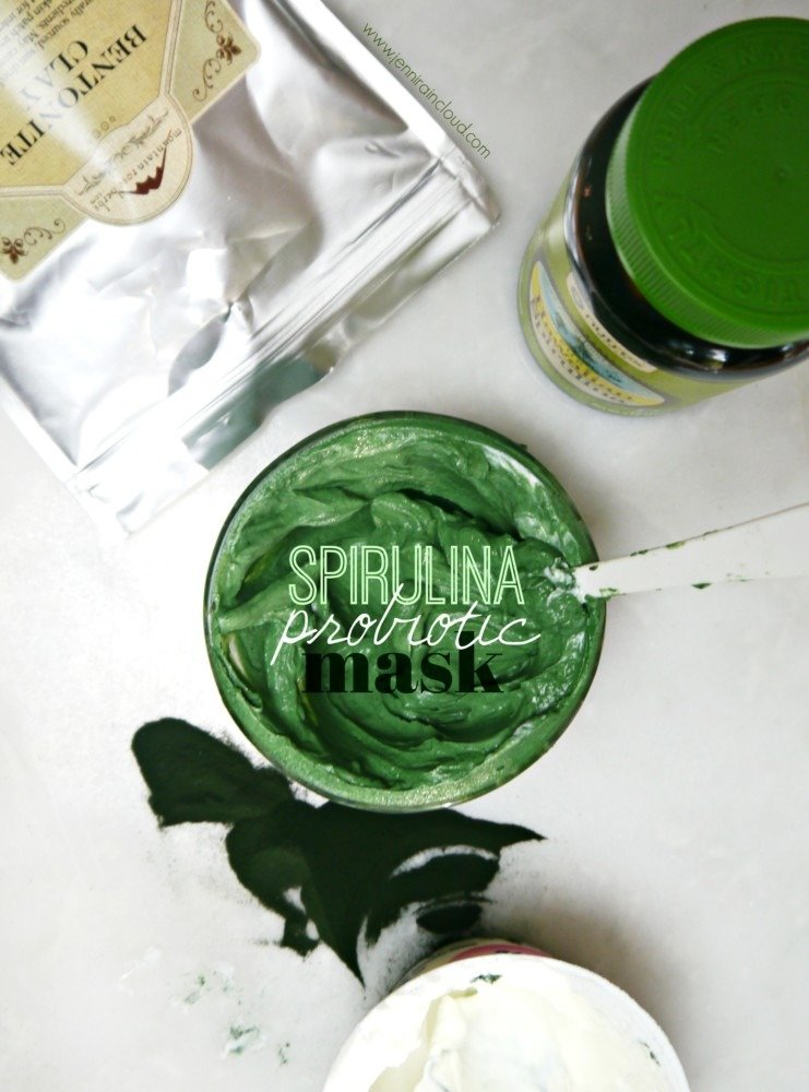 Spirulina Probiotic Mask