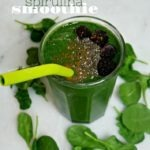 Spirulina Banana Smoothie