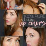 100% Pure's Winter Lip Colors!