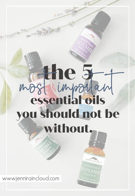 5 Best Essential Oils