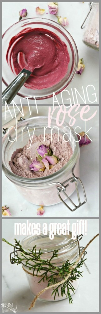 DIY Anti Aging Dry Mask