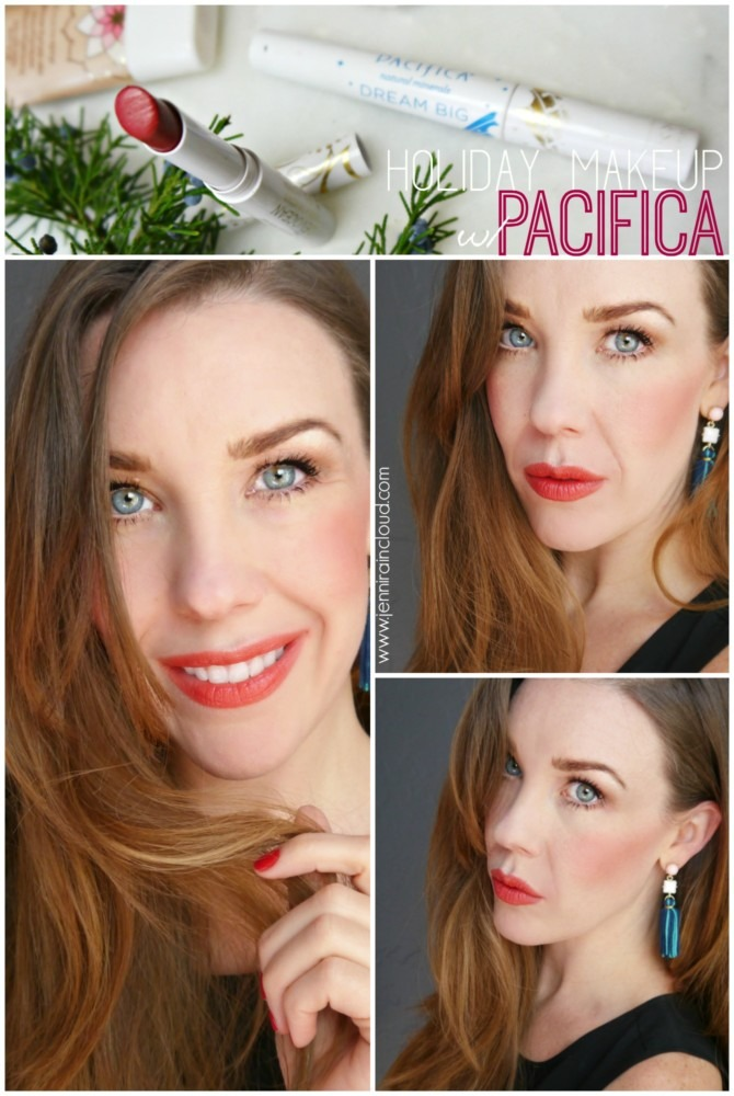 A Holiday Makeup Look with Pacifica…