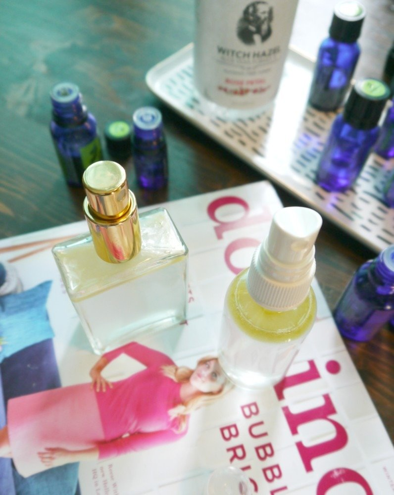 Essential Oils and winter blues