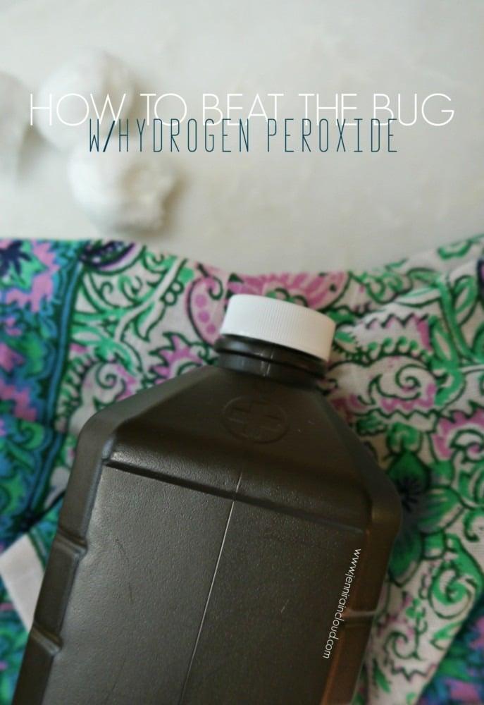 hydrogen peroxide in the ear