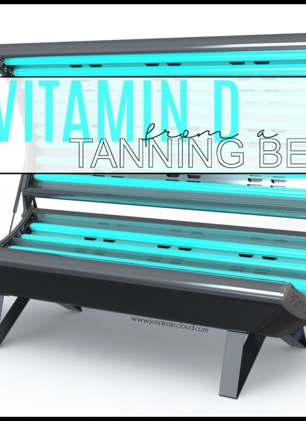 Tanning Bed for Vitamin D