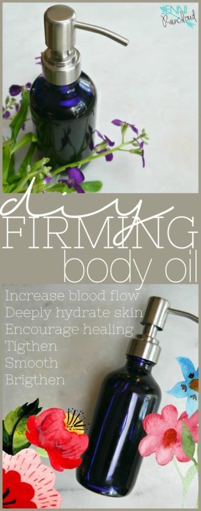DIY Firming Body Oil