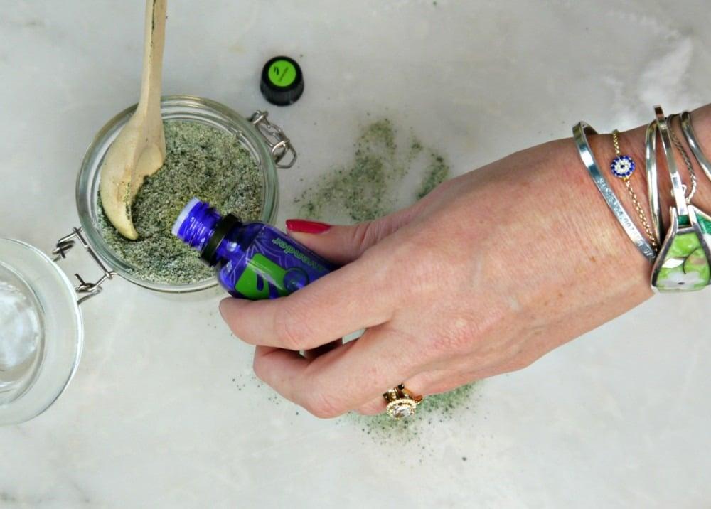 DIY Detox Mermaid Bath Salt
