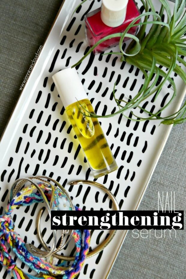 DIY Nail Strengthening Serum