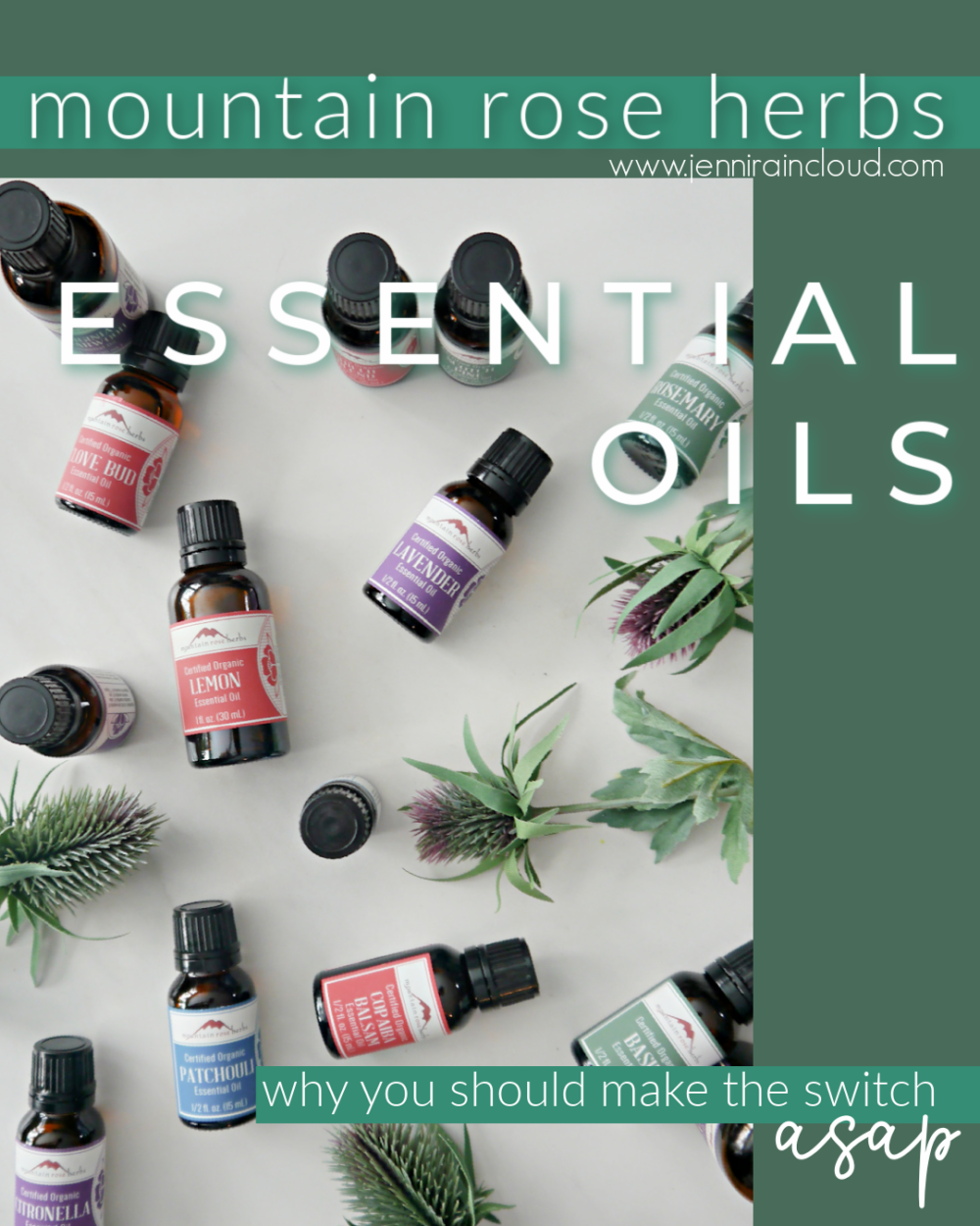 Mountain Rose Herbs Essential Oil Review