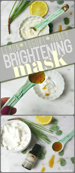 Yogurt and Honey DIY Mask