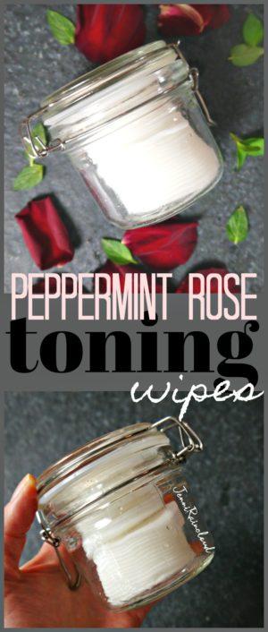 DIY Toning Wipes