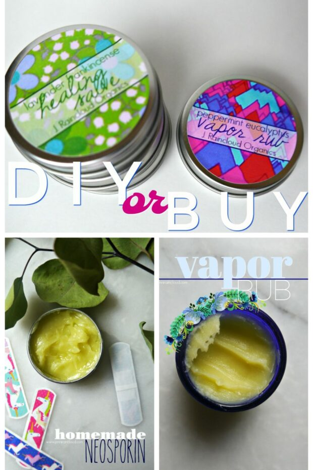 DIY or BUY Vapor Rub and Healing Salve