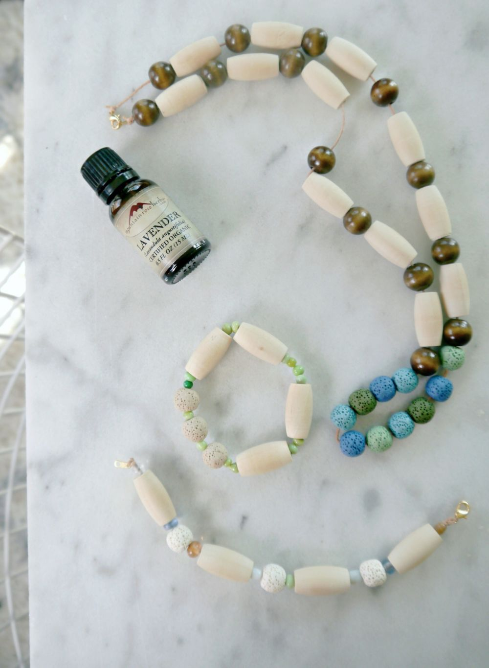 DIY Essential Oil Jewelry