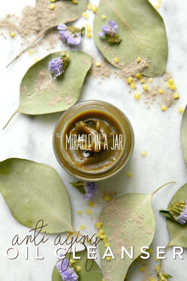 DIY Anti Aging Oil Cleanser