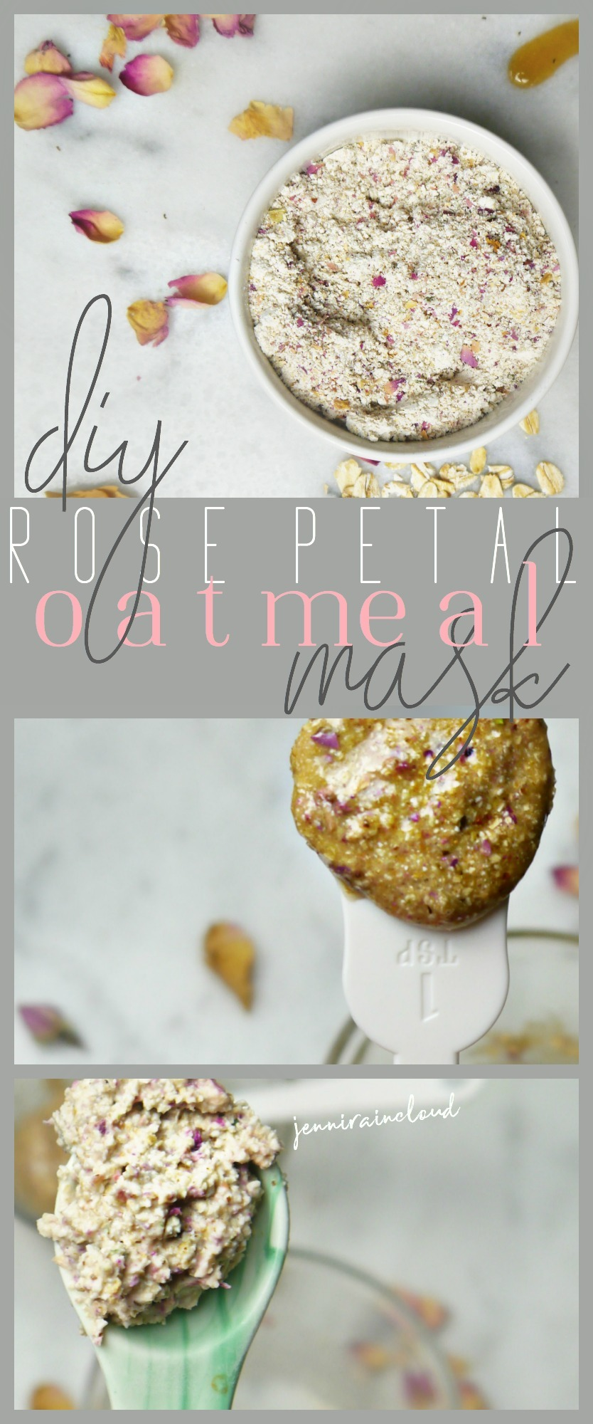 Rose Petal Oatmeal Masks