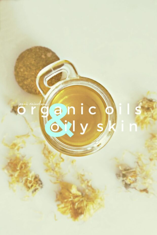 Oily skin and using oil