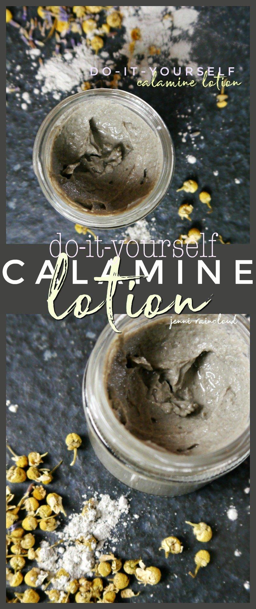 DIY Calamine Lotion