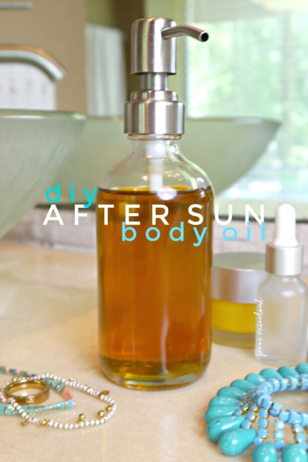 DIY After Sun Body Oil
