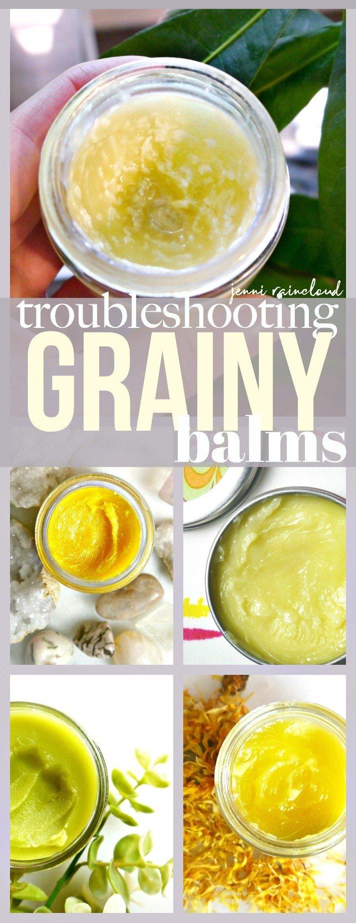 Troubleshooting Grainy Balms