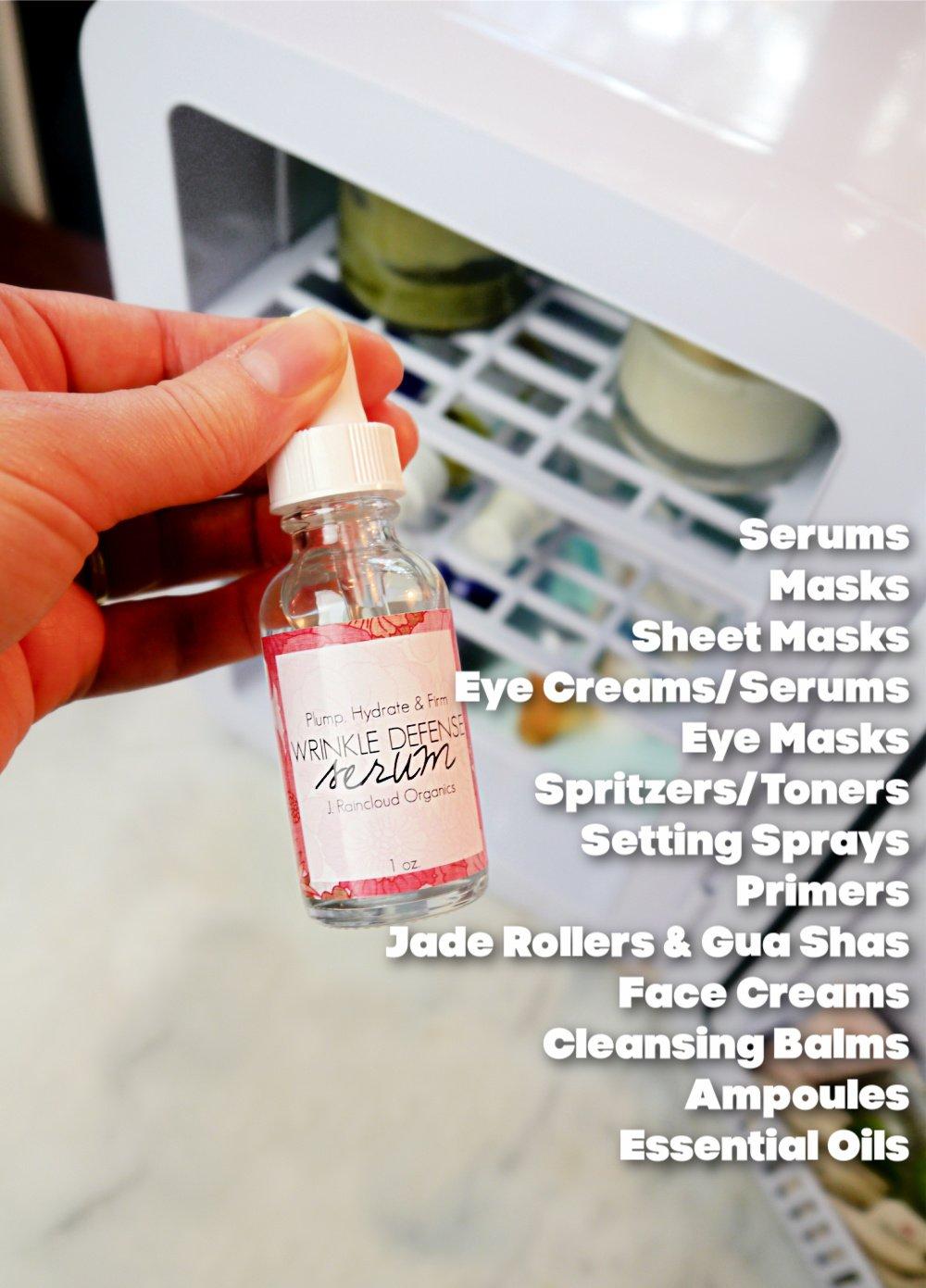 Benefits of a Skin Care Fridge
