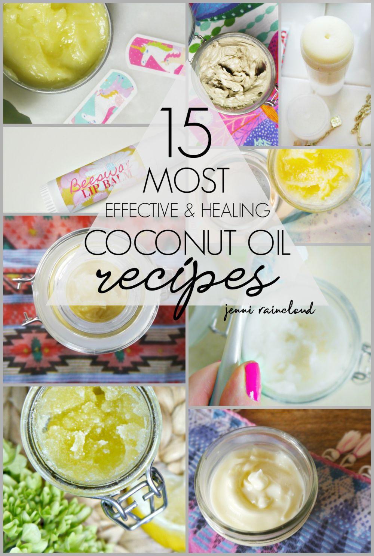 Coconut Oil DIY Recipes