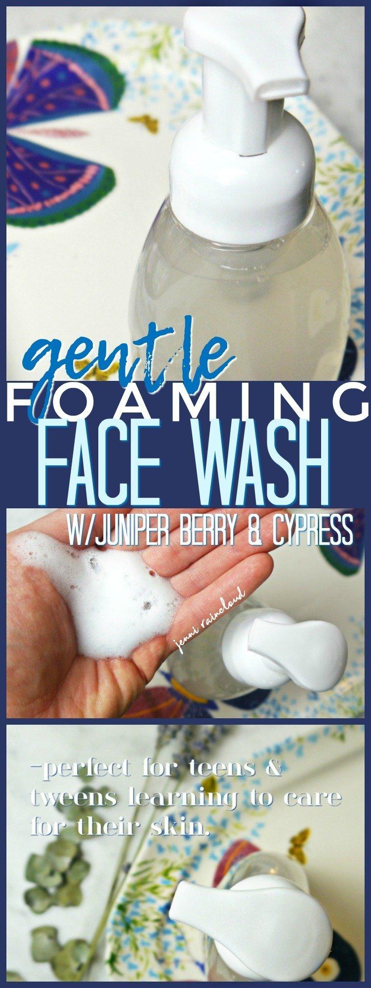 DIY Foaming Face Wash