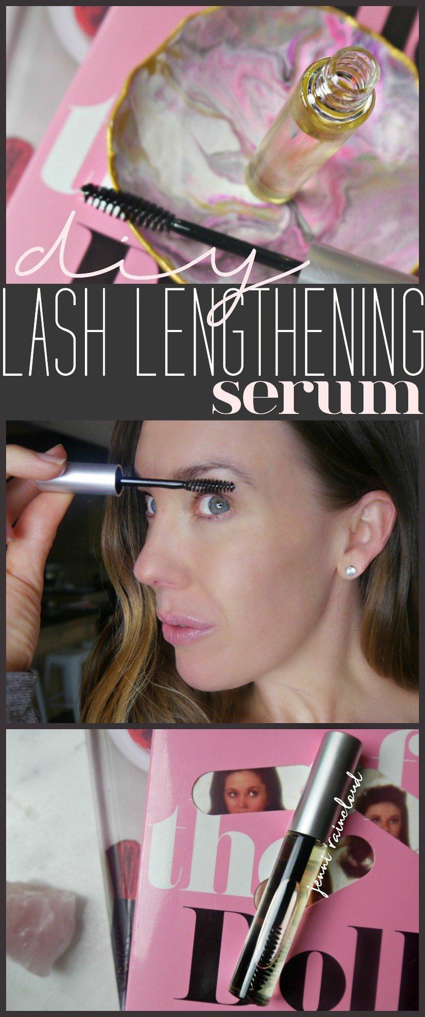 DIY Lash Lengthening Serum
