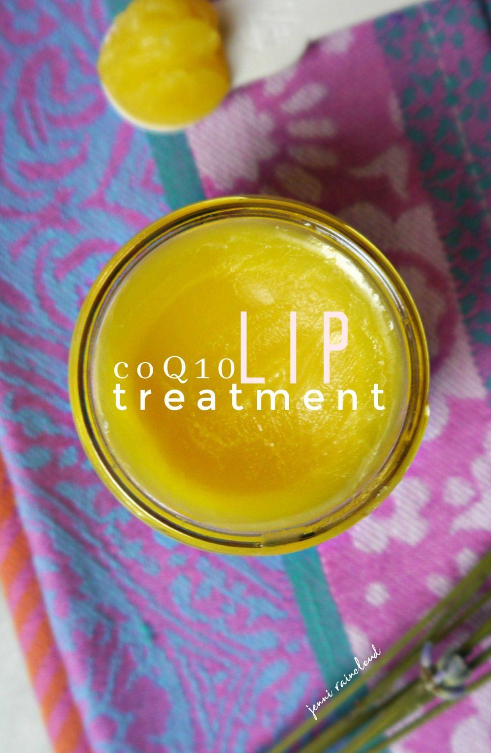 DIY coQ10 Lip Therapy