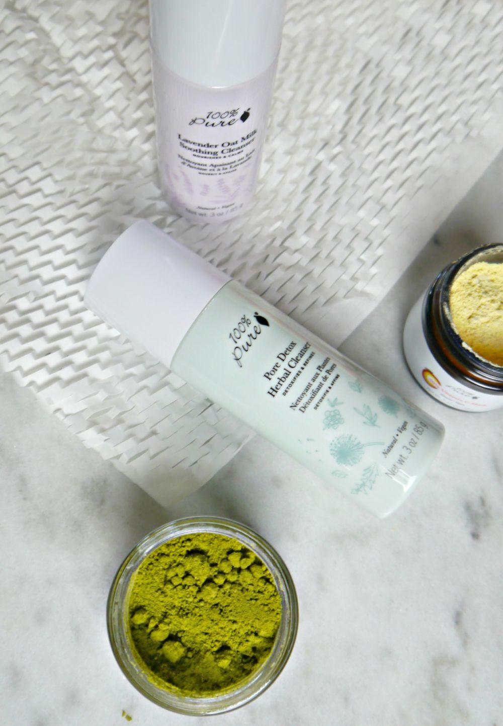 100 Percent Pure Powder Skin Care