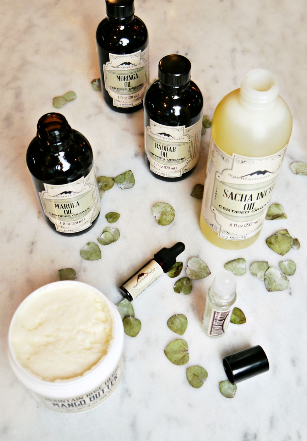 Mountain Rose herbs carrier oils