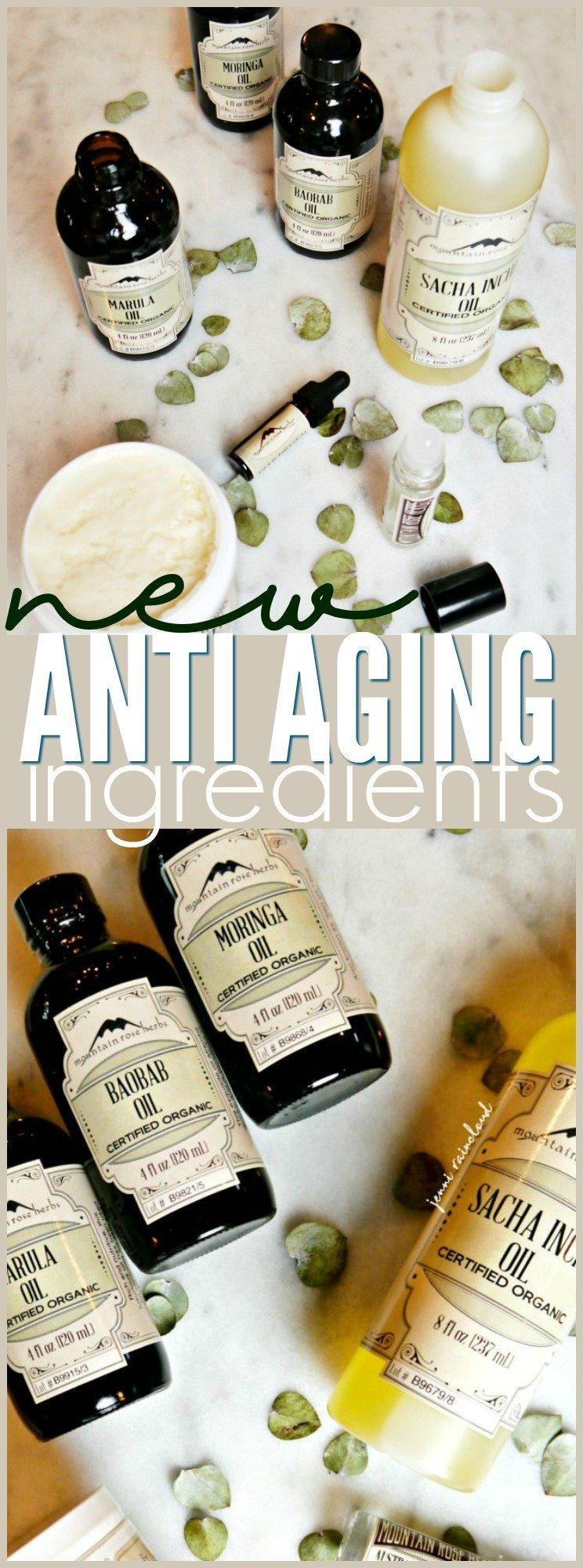 Mountain Rose Herbs Anti Aging Oils