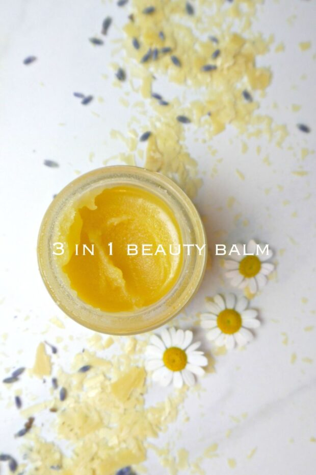 DIY Multipurpose Beauty Balm