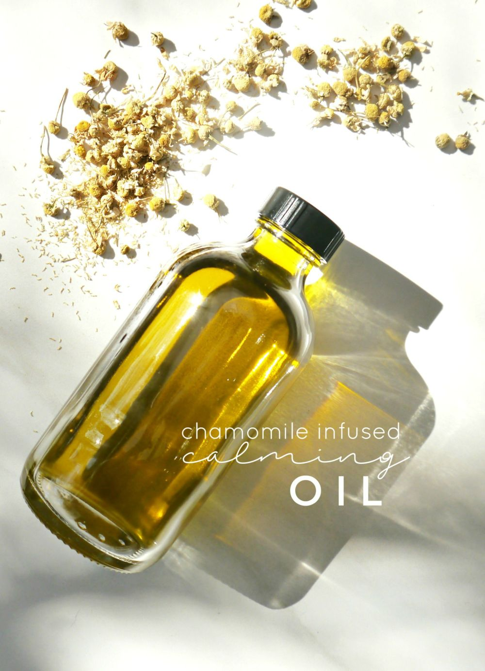 Chamomile Infused Calming & Hydrating Oil