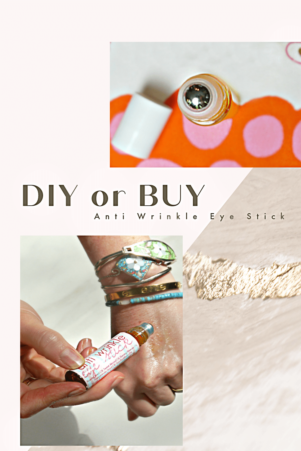Anti Wrinkle Eye Stick DIY or BUY