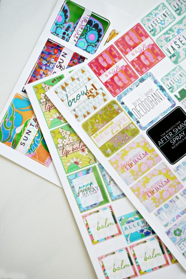 Sticker You Labels for DIY Skin Care