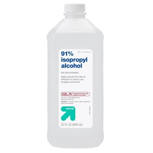 """Isopropyl Alcohol 91% - 32oz - up & up"""""""