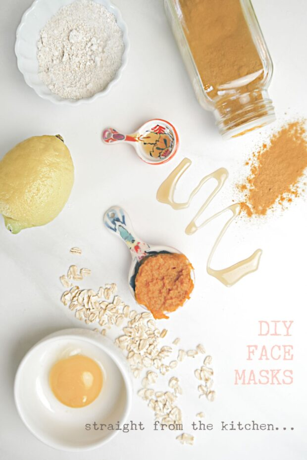 Homemade Masks Straight Out of the Kitchen