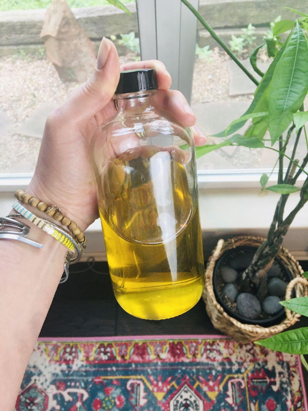 DIY Herb Infused Oil