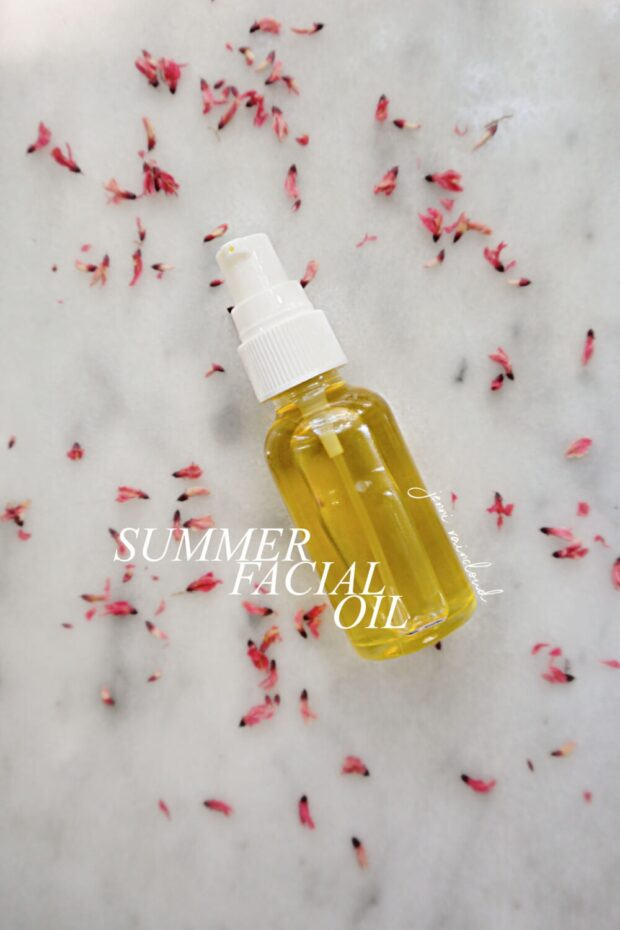 DIY Summer Facial Oil