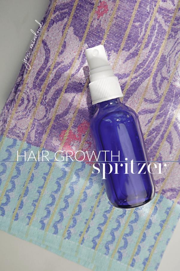 DIY Hair Growth Spritzer
