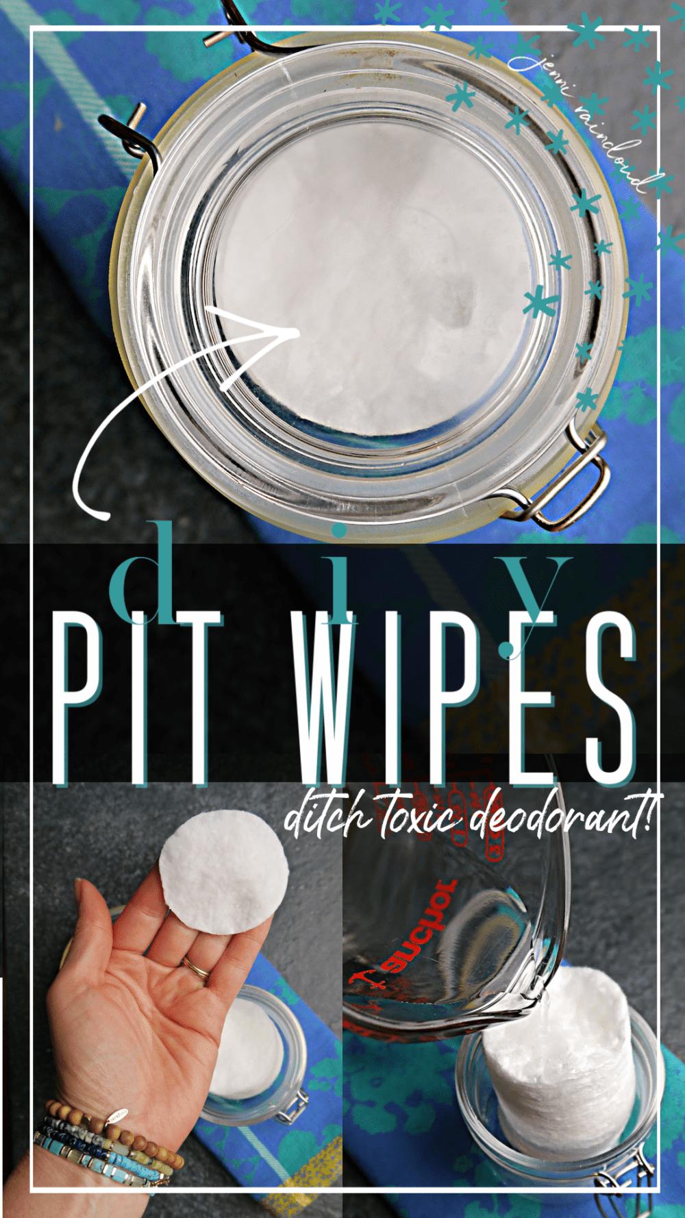 DIY Pit Wipes