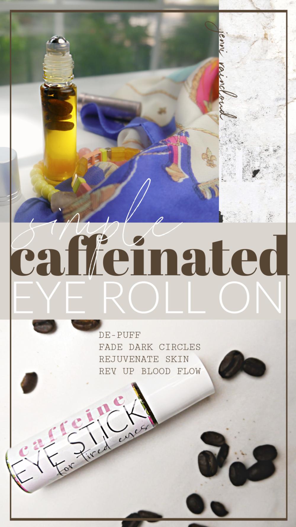 DIY Caffeine Roll On