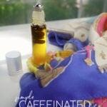 DIY Coffee Bean Eye Roll On