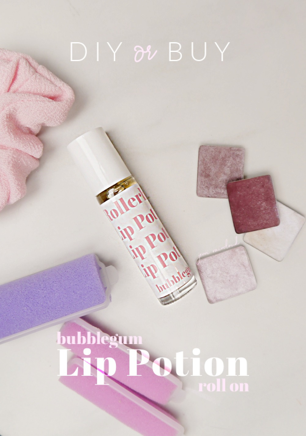 DIY Lip Potion
