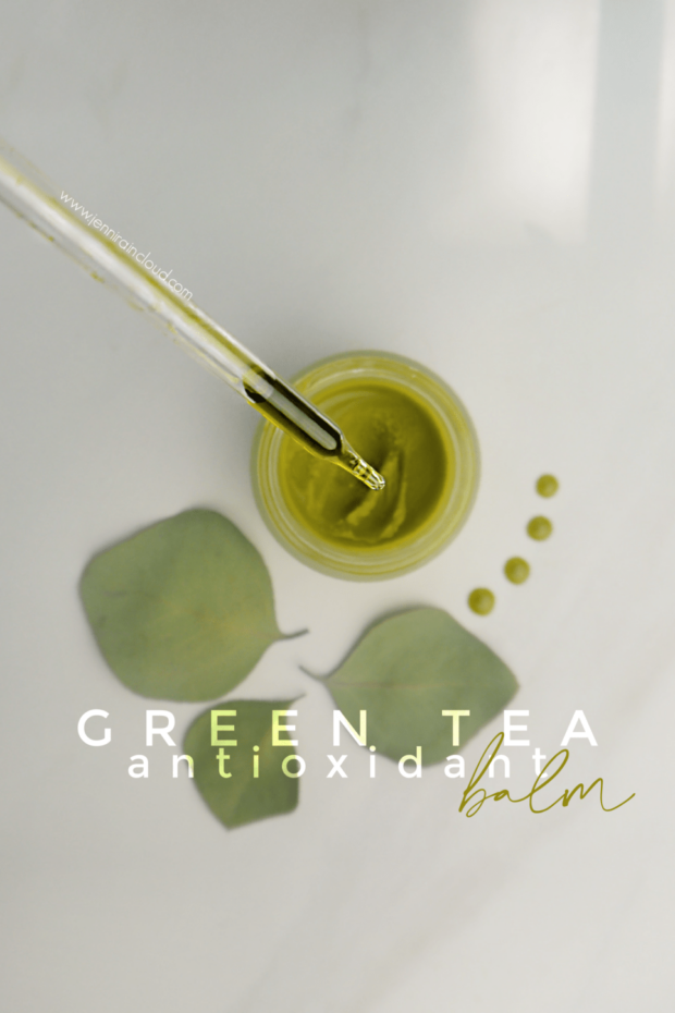 DIY Green Tea Balm