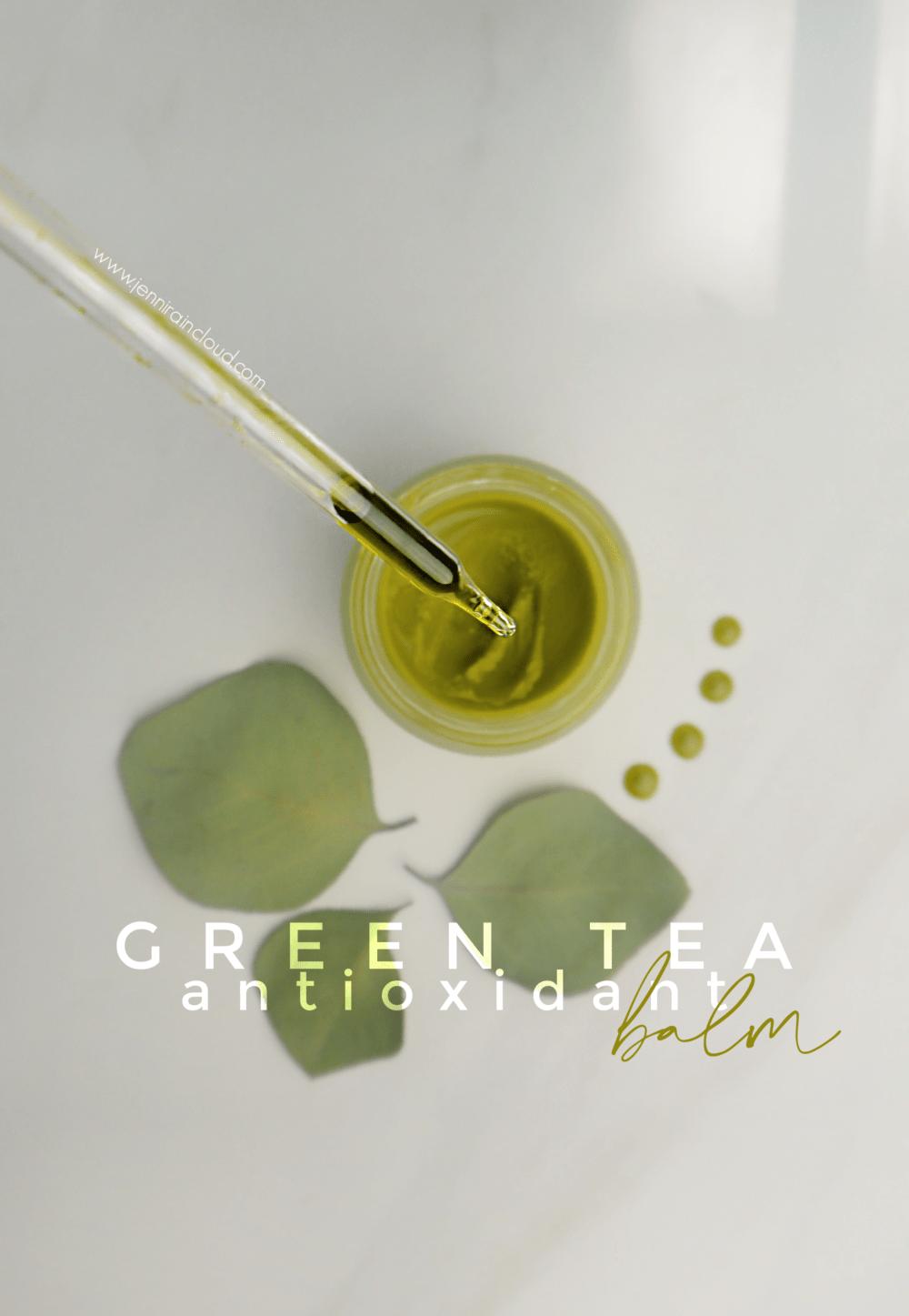 DIY Green Tea Balm