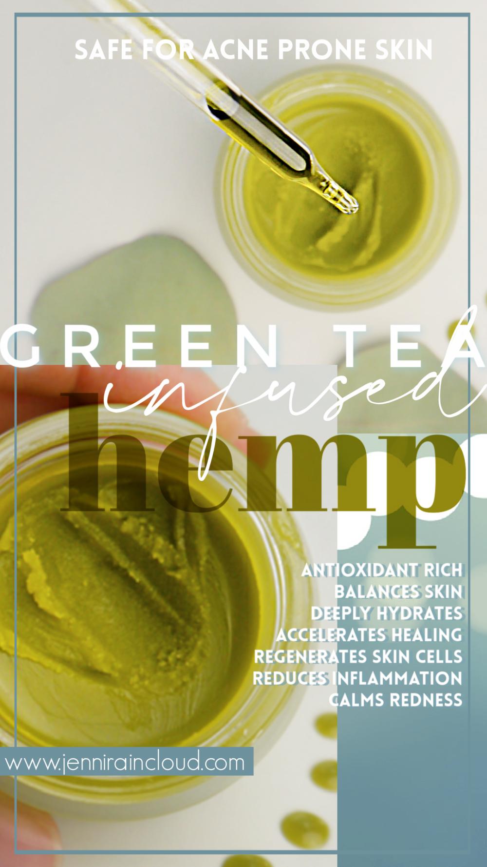 Green Tea Hemp Balm