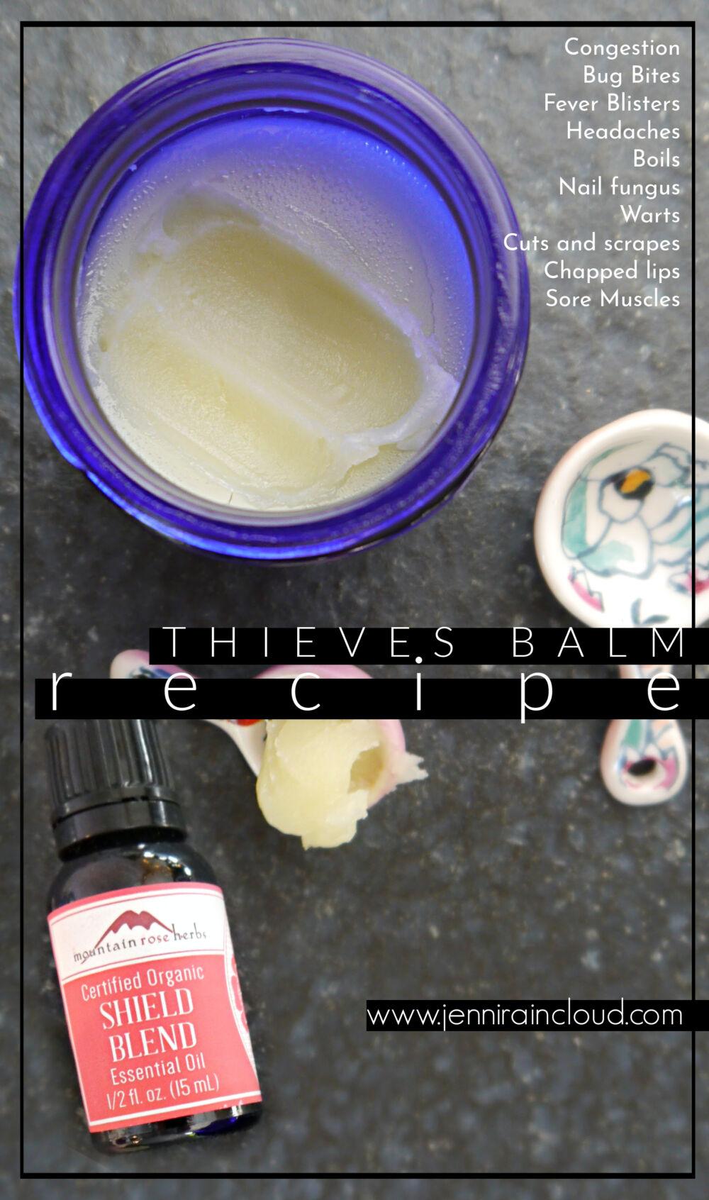 Thieves Balm Recipe