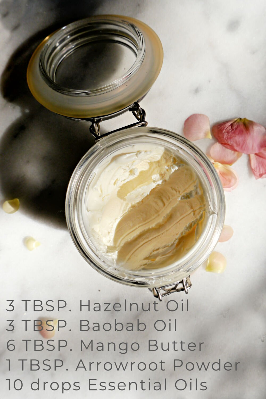DIY Body Butter Fast absorbing