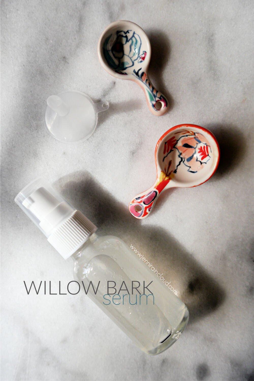 DIY Willow Bark Serum